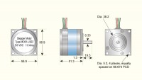 Low Torque Stepper Motor
