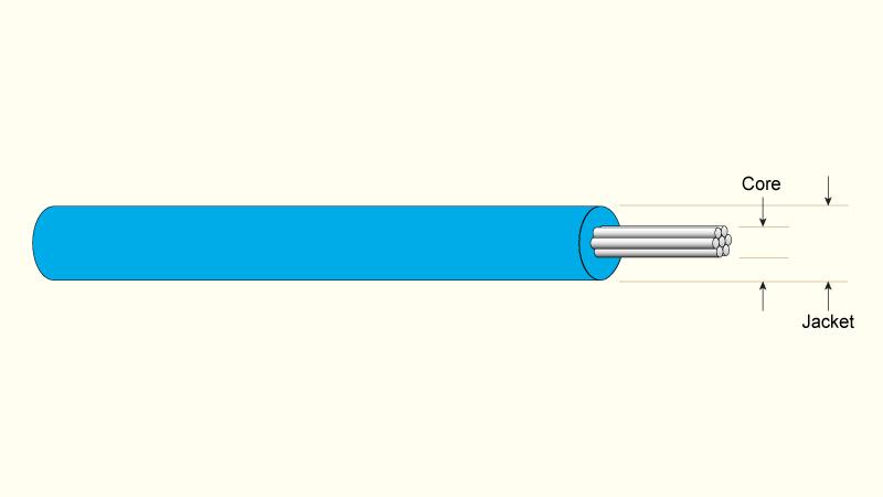 HV Teflon® 600VAC, 2kVDC & Silicone 30kVDC Insulated Wires - LewVac